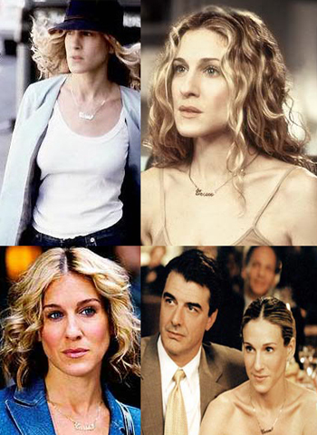 Carrie Bradshaw Necklace - Sex and the City